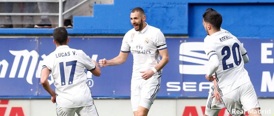 Video: Benzema: dua gol atau doblete dalam partainya yang ke-350 bersama Real Madrid
