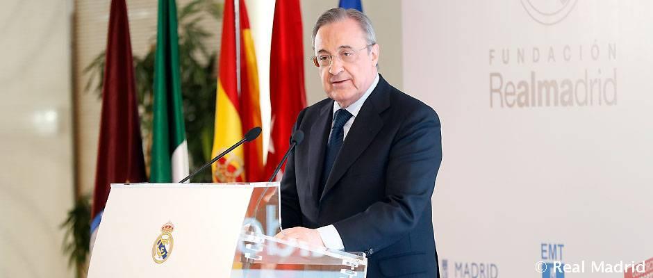 Video: Discurso de Florentino Pérez en la presentación del Corazón Classic Match 2017 'Latidos por África'