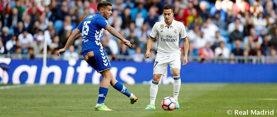 Lucas Vázquez, 50 jogos na Liga com o Real Madrid