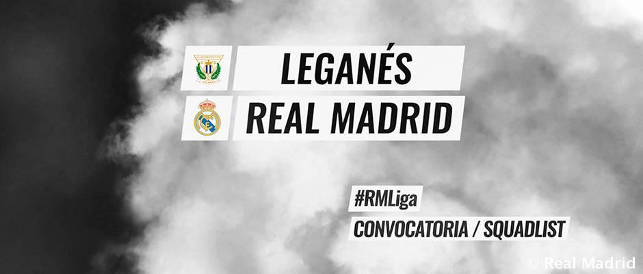 Video: 19-man squad for match against Leganés