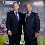 Event for the announcement of Florentino Pérez as president of Real Madrid