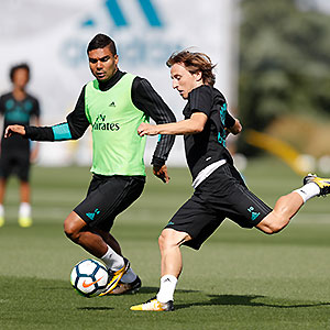 Real Madrid - Entrenamiento del Real Madrid - 15-09-2017
