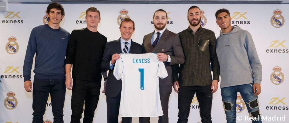 Video: El Real Madrid y Exness presentan su acuerdo de colaboración