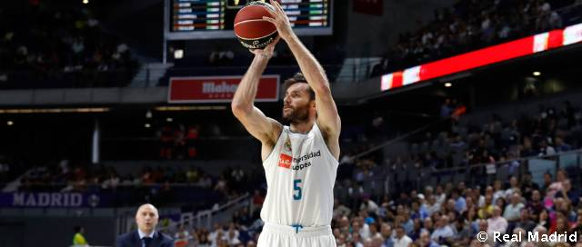 Rudy records his best season from the three-point line with Real Madrid