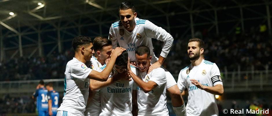 Video: 0-2: El Real Madrid da el primer paso hacia los octavos de Copa