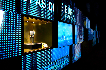 Real Madrid - The third most visited museum in Madrid. - 05-01-2018