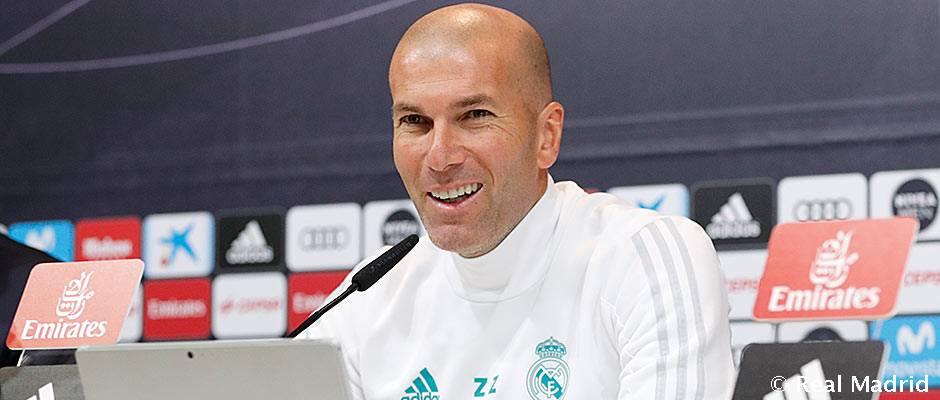 Video: Zidane: Vamos a seguir trabajando más que nunca