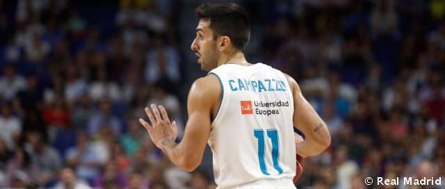 Campazzo, the only player to have featured in every game