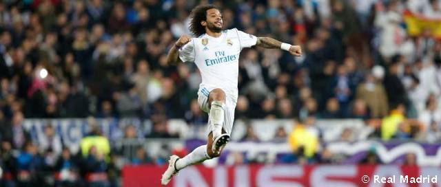 Marcelo equals his scoring record