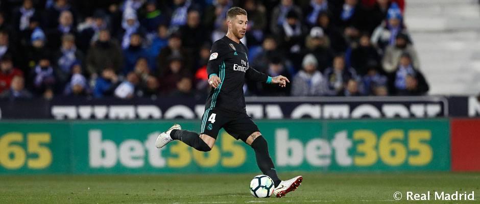 Video: Ramos marque pour son 550ème match avec le Real Madrid.