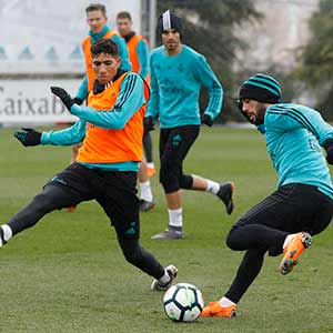 Real Madrid - Entrenamiento del Real Madrid - 02-03-2018