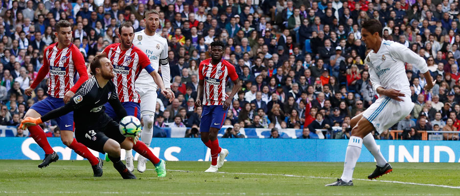 9358d01e739 Real Madrid-Atlético: 1-1: Oblak and the woodwork deny Real Madrid victory
