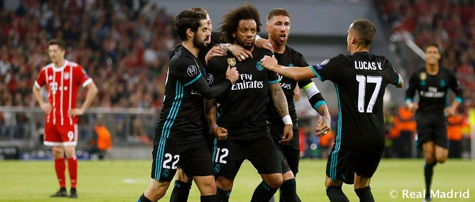 Video: 1-2: Real Madrid strike back to beat Bayern in Munich