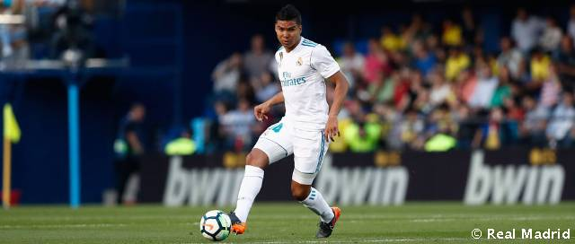 Casemiro makes 150th competitive appearance for Real Madrid