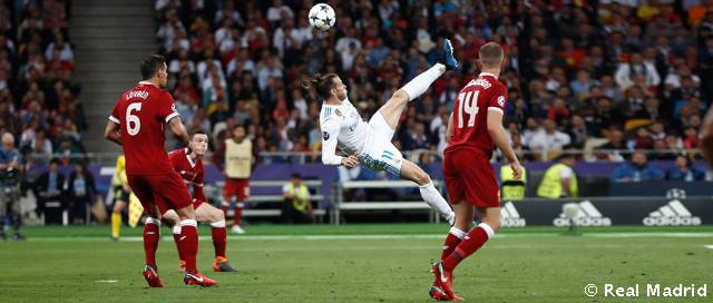 The overhead kick that gave Bale instant legendary status in the European Cup