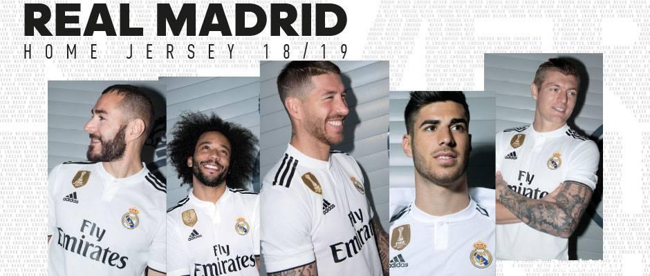 Video: Así es la nueva camiseta para la temporada 2018-19