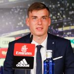 Lunin's press conference