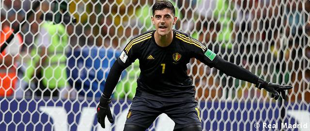 Courtois, novo jogador do Real Madrid