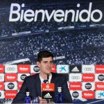 Courtois´s first press conference
