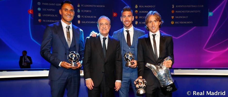 Video: Modric, Jugador del Año de la UEFA 2017/18