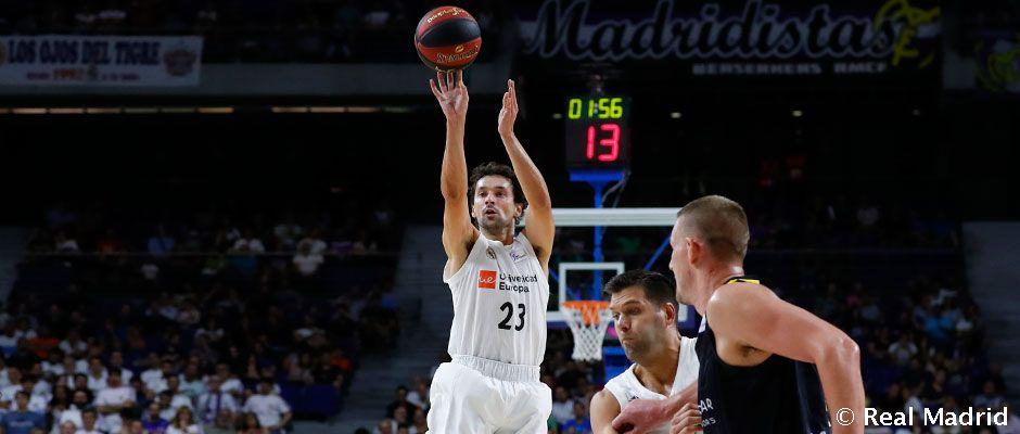 Video: Llull, máximo triplista del Real Madrid en la ACB