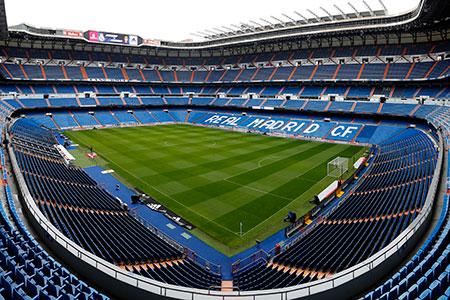 ملعب سانتياجو برنابيو مدريد
