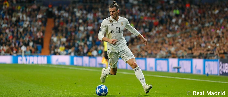 Video: Bale makes 200th Real Madrid appearance