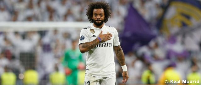 Marcelo, 14 seasons at Real Madrid