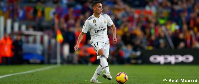 Lucas Vázquez, 100 LaLiga games for Real Madrid