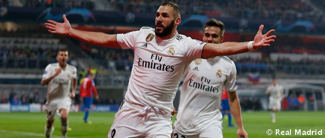Benzema: Stunning brace sees him pass 200 goal mark for Real Madrid