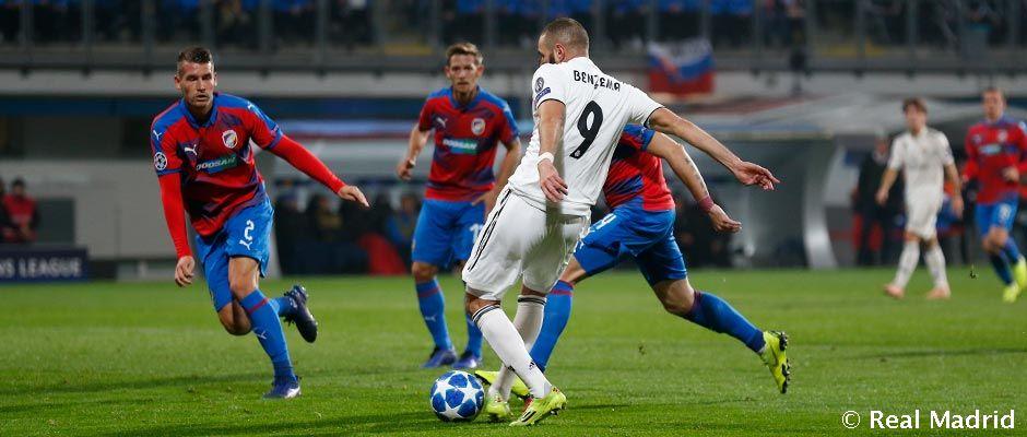 Video: Benzema, buteur à l'extérieur