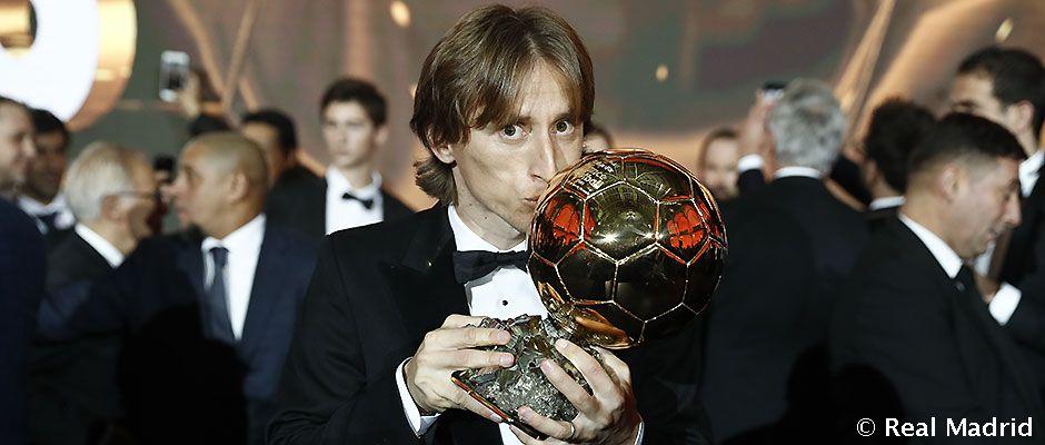 Video: Luka Modric, Balón de Oro 2018