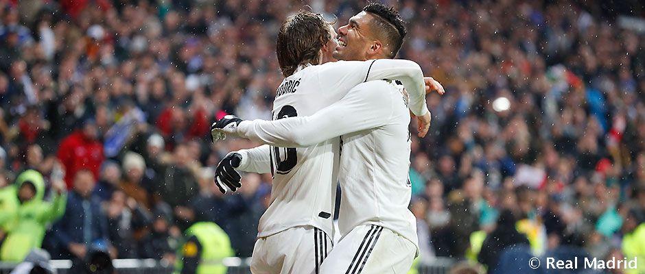 Video: 2-0:カゼミーロとモドリッチがレアル・マドリードの素晴らしい勝利を決す