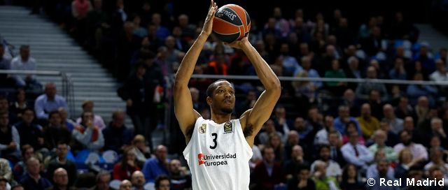 Randolph has scored more three-pointers than any other Euroleague center