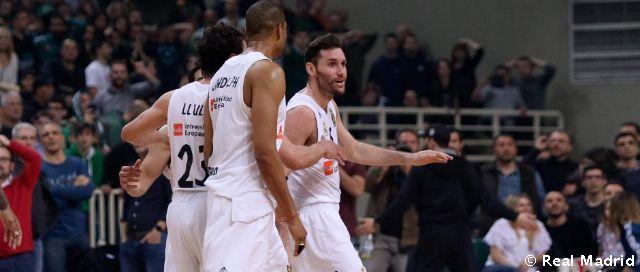 Video: El increíble triple de Rudy para vencer al Panathinaikos