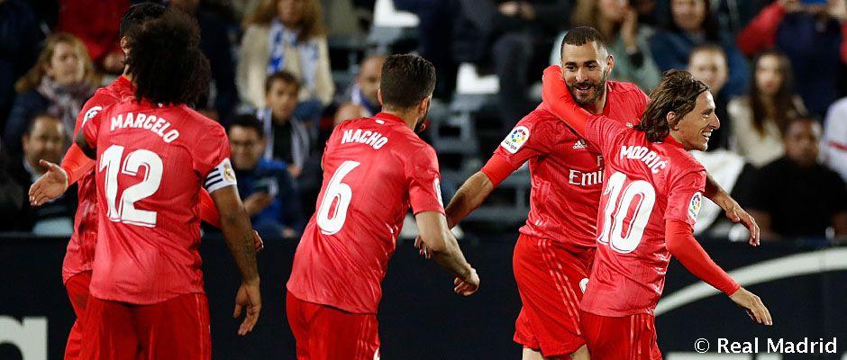 Video: 1-1: O Real Madrid empata em Butarque