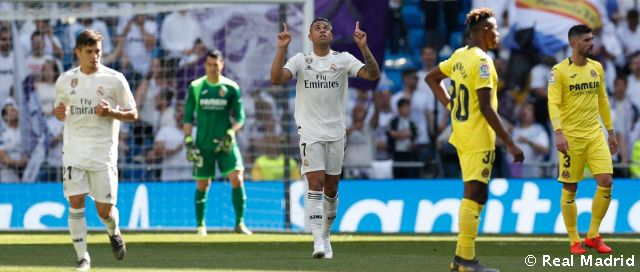 Mariano struck Real Madrid