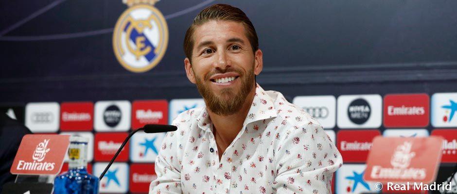 """Video: Sergio Ramos: """"Mi sueño es retirarme en el Real Madrid"""""""