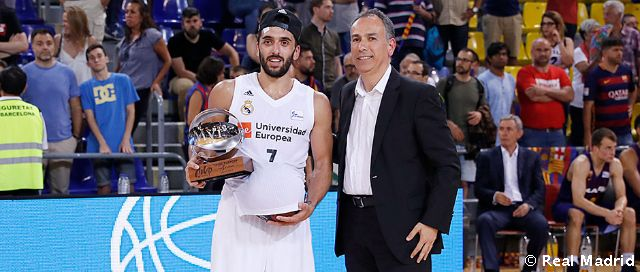 Video: Campazzo, MVP de la final de la Liga Endesa