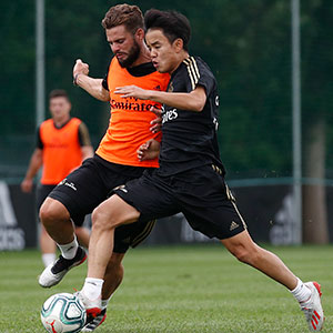 Real Madrid - Entrenamiento del Real Madrid en Montreal - 12-07-2019