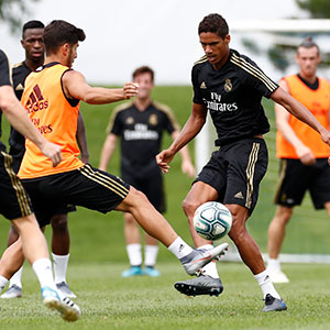 Real Madrid - Entrenamiento del Real Madrid en Montreal - 14-07-2019