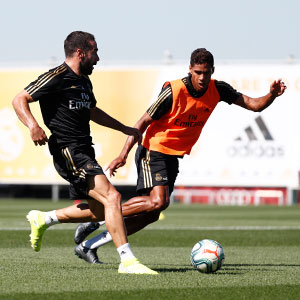 Real Madrid - Entrenamiento del Real Madrid - 14-08-2019
