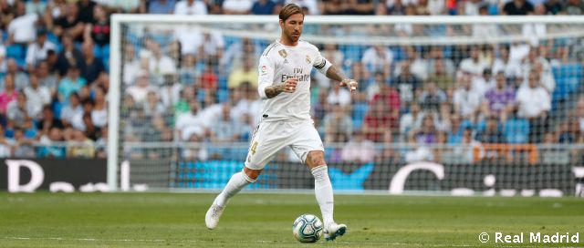 Ramos has spent 14 years at Real Madrid