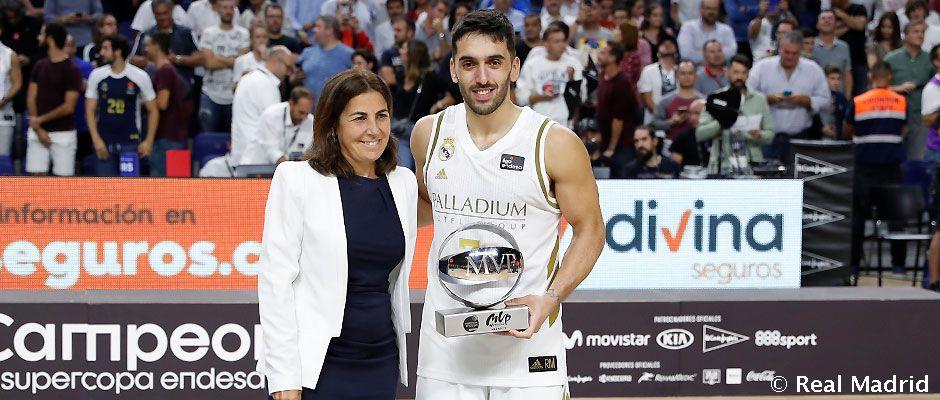 Video: Campazzo, MVP de la Supercopa