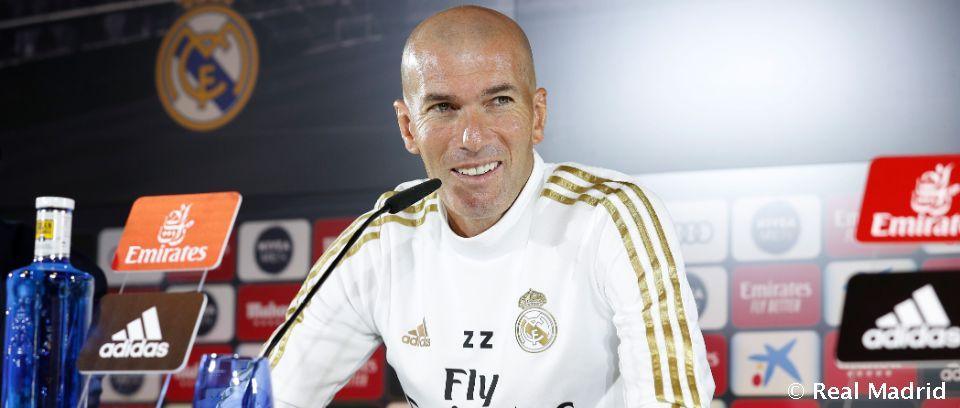 Video: Zidane: ''Lo más importante es dar el máximo siempre''