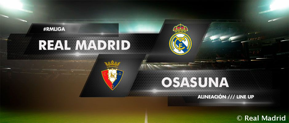 Video: Once inicial del Real Madrid frente a Osasuna