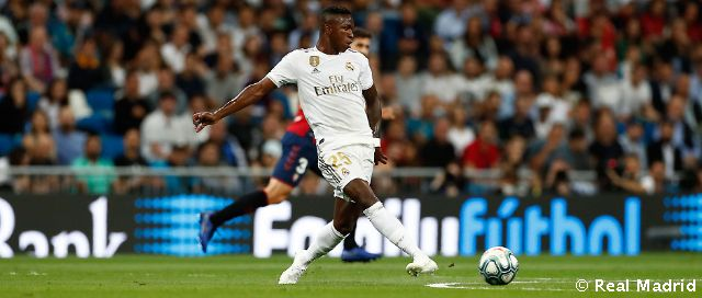 The right-foot strike from Vinicius Jr. opened the scoring against Osasuna