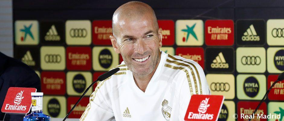 Video: Zidane: ''Estamos en un buen momento para el derbi''