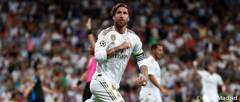 Video: Ramos ha marcado en todas las temporadas