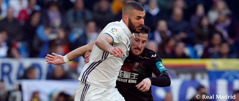 Video: Benzema, goleador en las cuatro últimas visitas del Granada